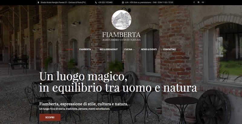 Il nuovo sito web di Fiamberta è online!