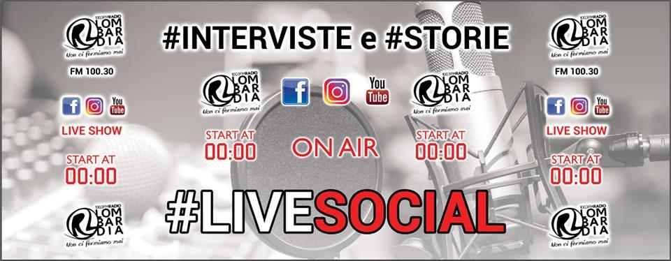 FIAMBERTA a Radio Lombardia Live Social